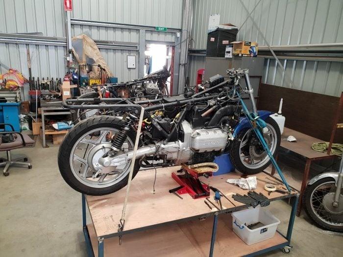 BMW K75 Cafe Racer Build 2