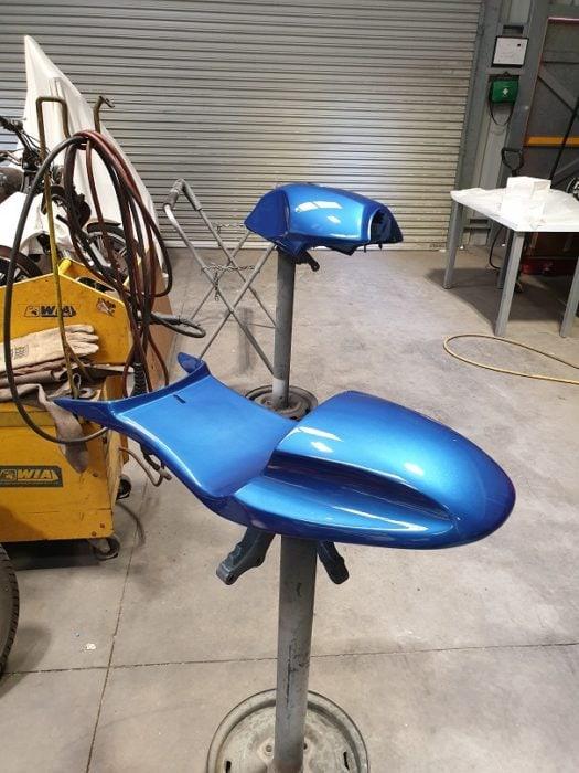 BMW K75 Cafe Racer Build 27