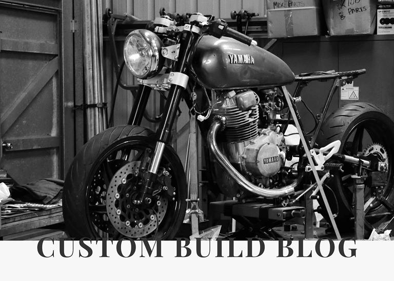 Yamaha XS400 Cafe Racer Build 4