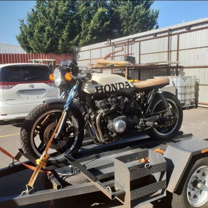 Honda CB750 F Cafe Racer Build 1