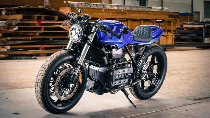 BMW K75 Cafe Racer Build 43