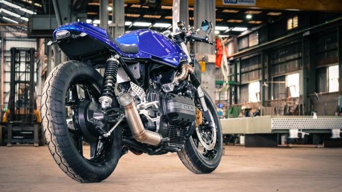 BMW K75 Cafe Racer Build 42
