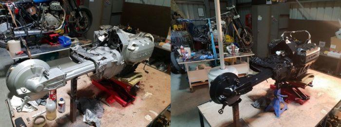 BMW K75 Cafe Racer Build 6