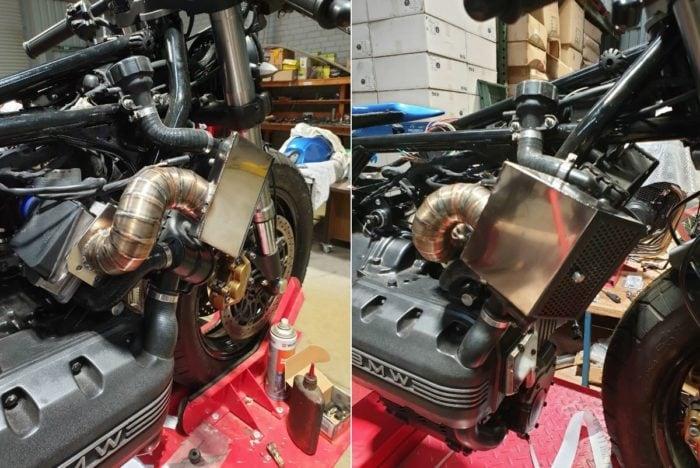 BMW K75 Cafe Racer Build 34