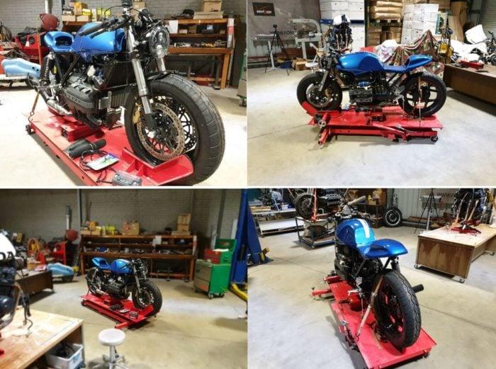 BMW K75 Cafe Racer Build 31