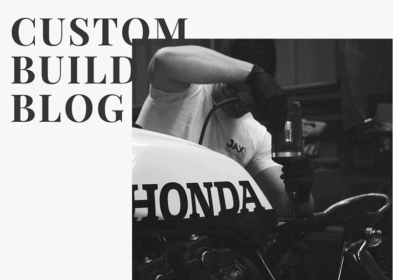 Honda CB750 F Cafe Racer Build 9