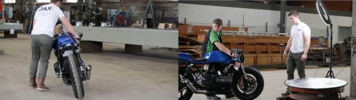 BMW K75 Cafe Racer Build 39