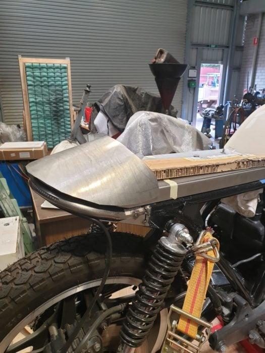 Honda CB750 F Cafe Racer Build 7