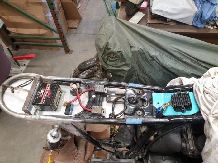Honda CB750 F Cafe Racer Build 25