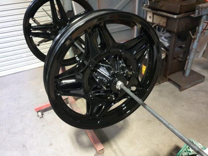 Honda CB750 F Cafe Racer Build 14