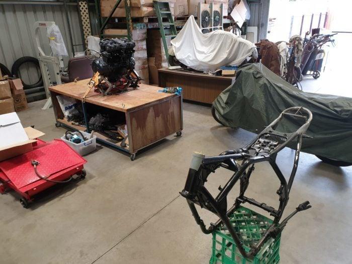 Honda CB750 F Cafe Racer Build 26
