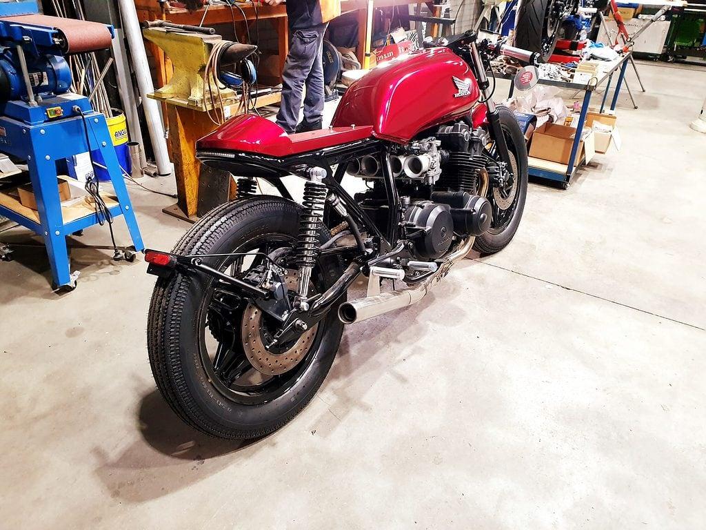 Honda CB750 F Cafe Racer Build 103