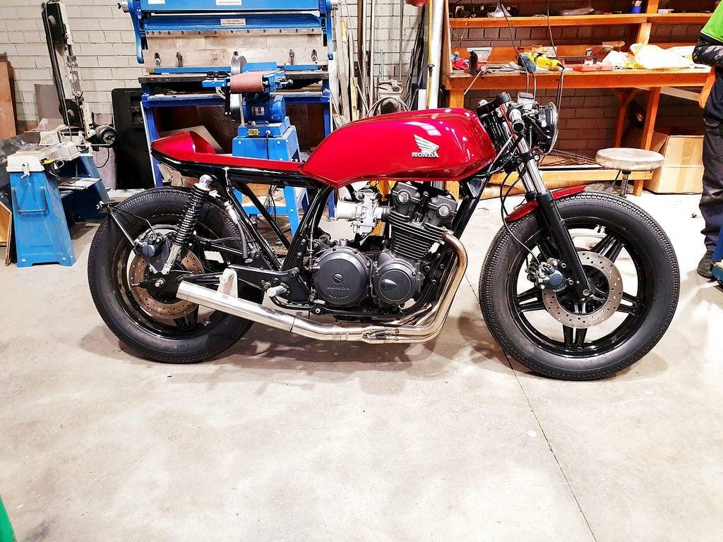 Honda CB750 F Cafe Racer Build 101