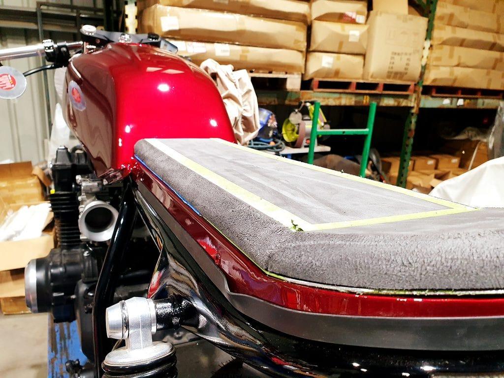 Honda CB750 F Cafe Racer Build 104