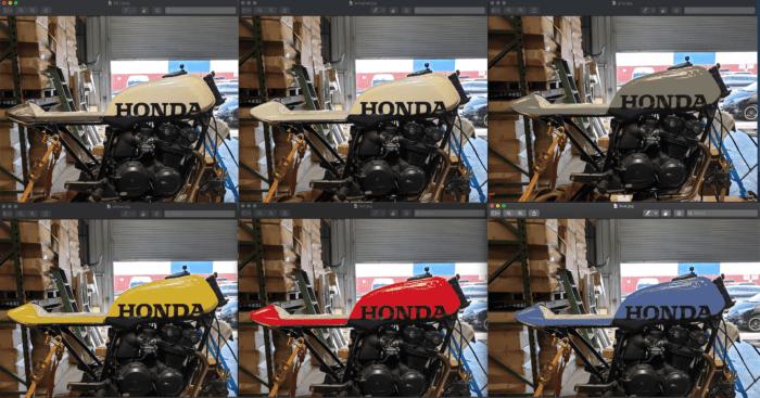 Honda CB750 F Cafe Racer Build 23