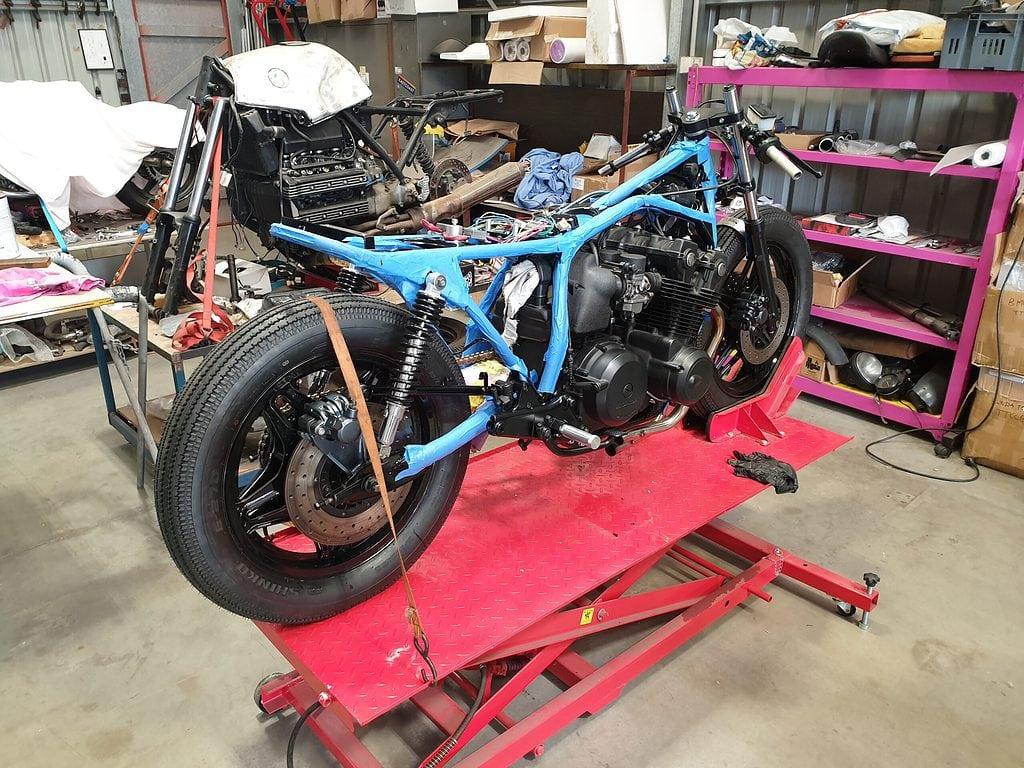 Honda CB750 F Cafe Racer Build 49
