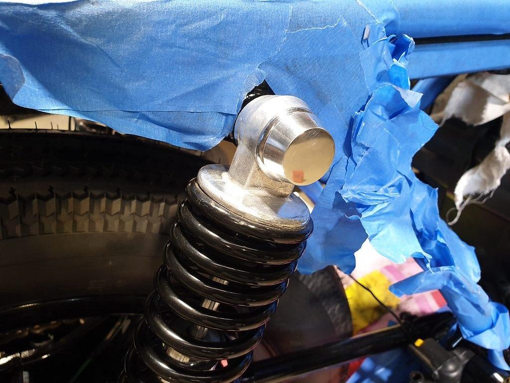 Honda CB750 F Cafe Racer Build 51