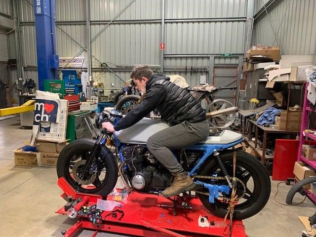 Honda CB750 F Cafe Racer Build 62