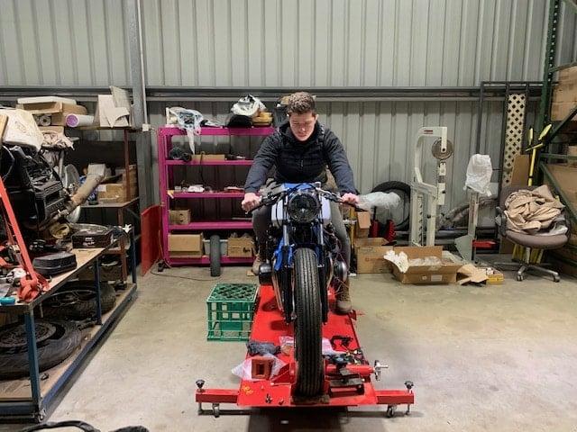 Honda CB750 F Cafe Racer Build 61