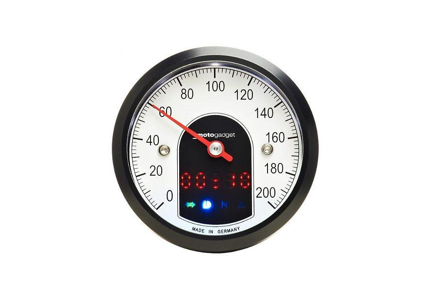Motogadget Motoscope Tiny - Analogue Dashboard 1