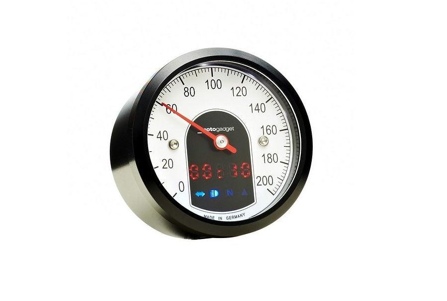 Motogadget Motoscope Tiny - Analogue Dashboard 4