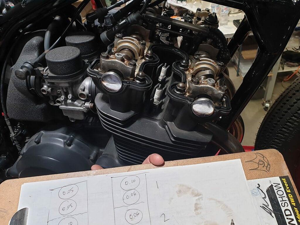 Honda CB750 F Cafe Racer Build 81