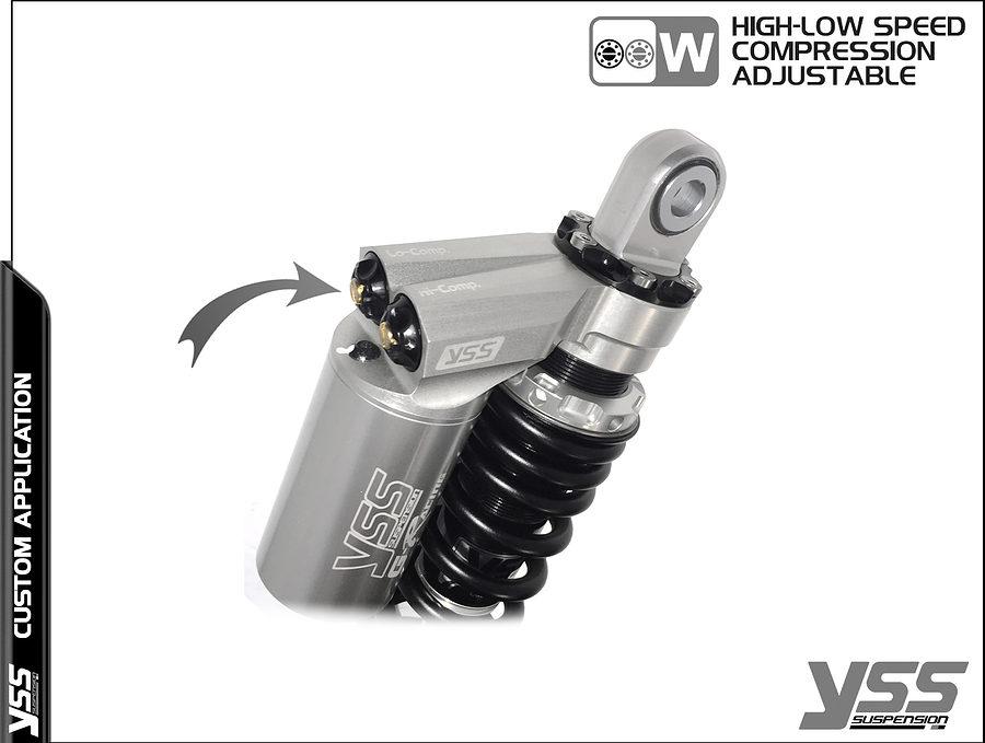 BMW K100 / K75 - YSS Suspension MG-CB-362-TRWL Topline Custom Shocks 5