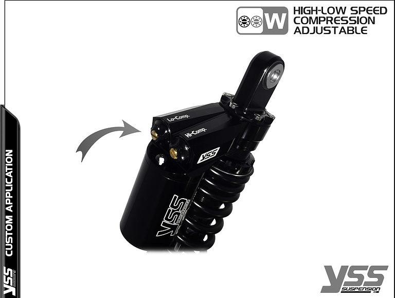 BMW K100 / K75 - YSS Suspension MG-CB-362-TRWL Topline Custom Shocks 18