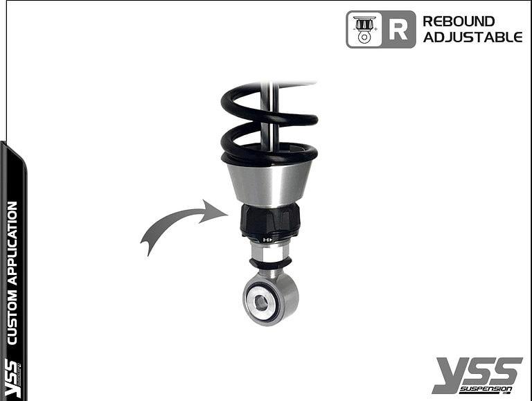 BMW R100 / R80 - RZ-BB-362-420-TRL YSS Suspension Topline Custom Shocks 12