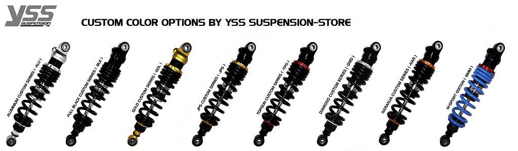 BMW R100 / R80 - Monolever - MZ366-410TRL-06 Custom YSS Shocks 11