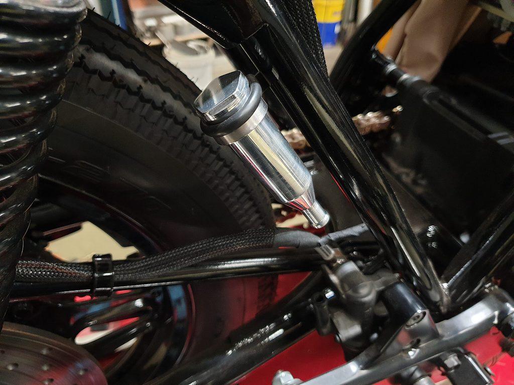 Honda CB750 F Cafe Racer Build 97