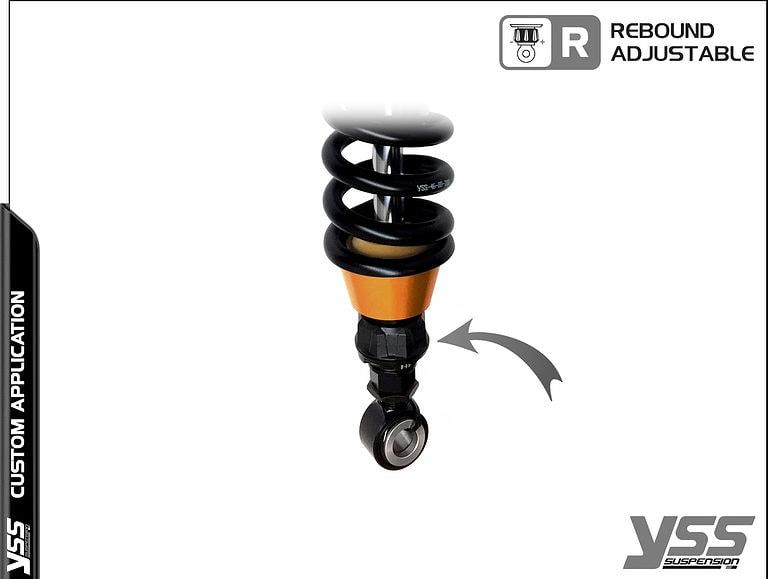 BMW R100 / R80 - Monolever - MG-CB-366-TRWL-RTB YSS Suspension Topline Custom Shocks 16