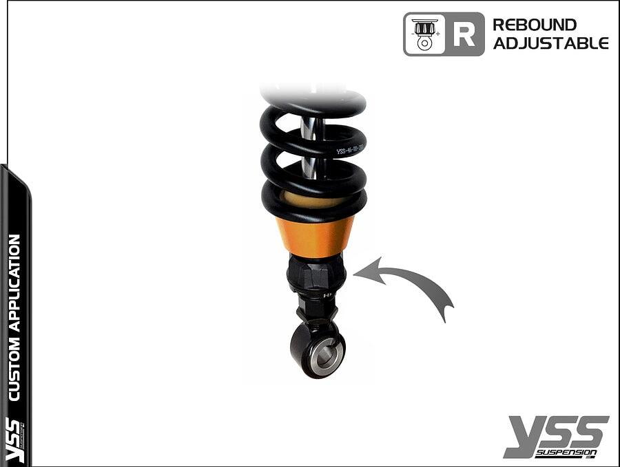 BMW R100 / R80 - Monolever - MG-CB-366-TRWL-RTB YSS Suspension Topline Custom Shocks 4