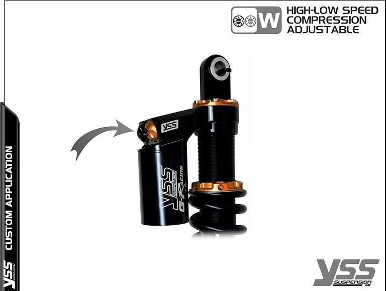BMW R100 / R80 - Monolever - MG-CB-366-TRWL-RTB YSS Suspension Topline Custom Shocks 19