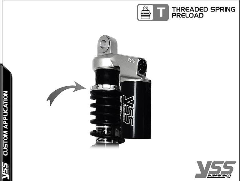 Honda RG-CB-362-TRCL YSS Topline Custom Shocks 10