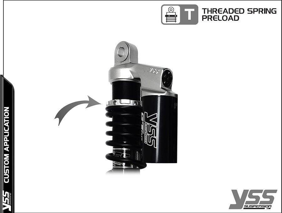 Honda RG-CB-362-TRCL YSS Topline Custom Shocks 4