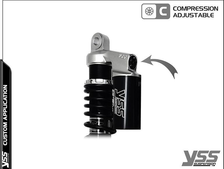 Honda RG-CB-362-TRCL YSS Topline Custom Shocks 13