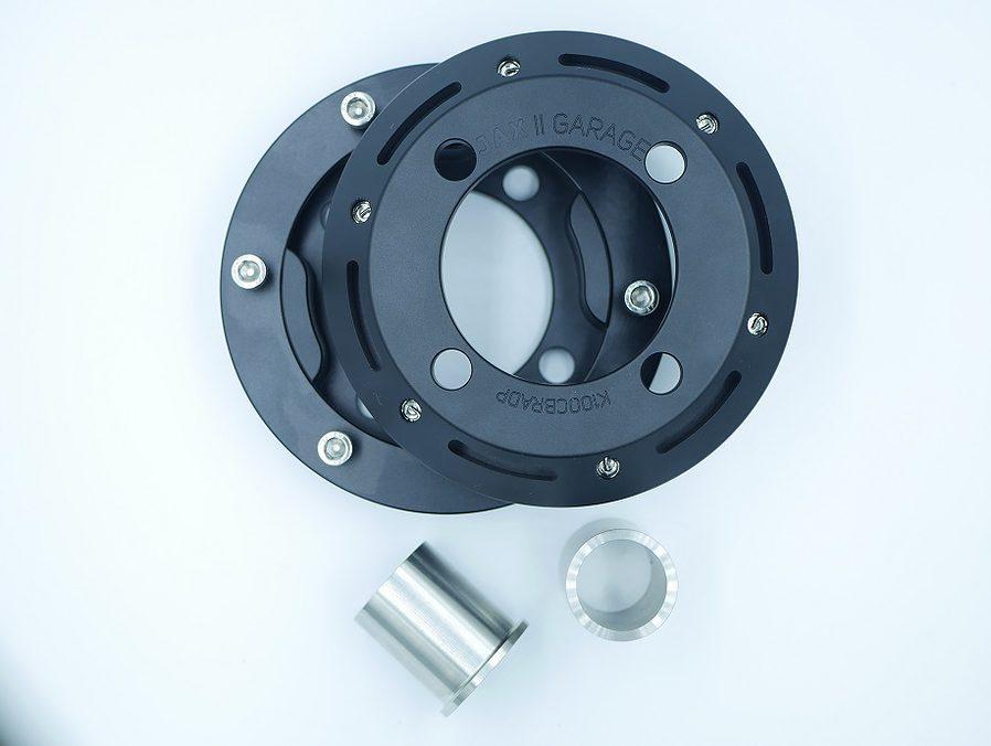 BMW K100 / K75 Wheel - Brake Disc / Rotor Adapter Kit 2