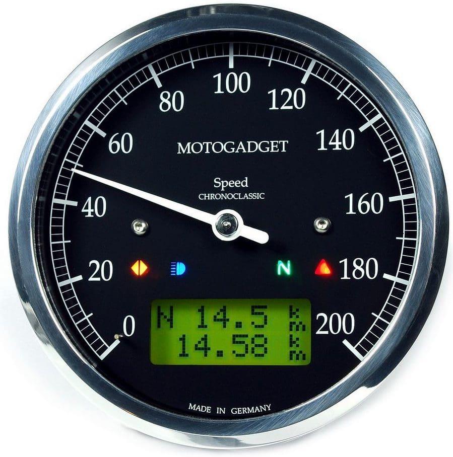 Motogadget Chronoclassic Speedo 2