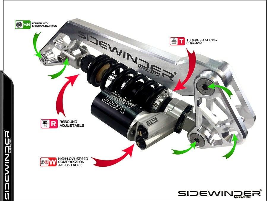 BMW Sidewinder Meccanica K-KIT K10G 4