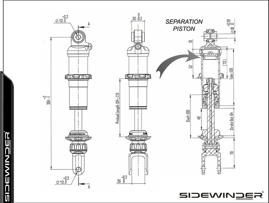 BMW Sidewinder Meccanica K-KIT K10Z 6