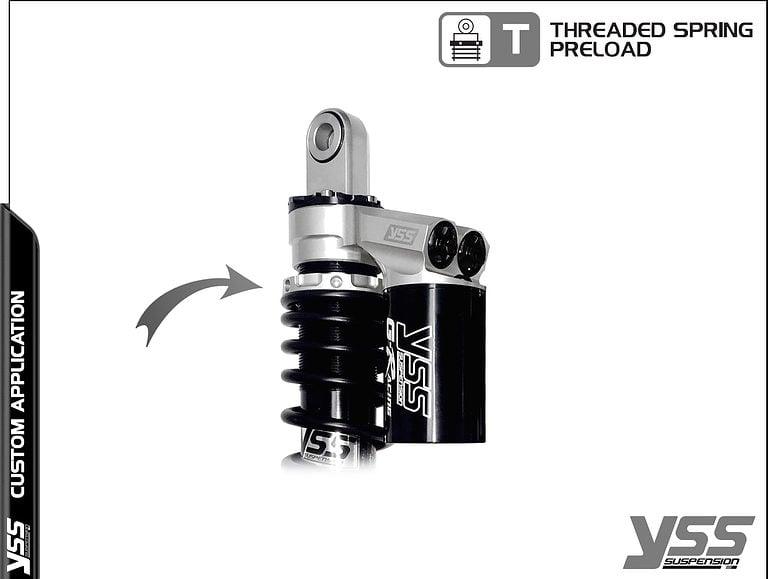 Honda RG-CB-362-TRWL YSS Topline Custom Shocks 10
