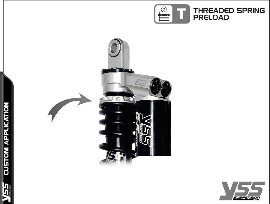 Honda RG-CB-362-TRWL YSS Topline Custom Shocks 4