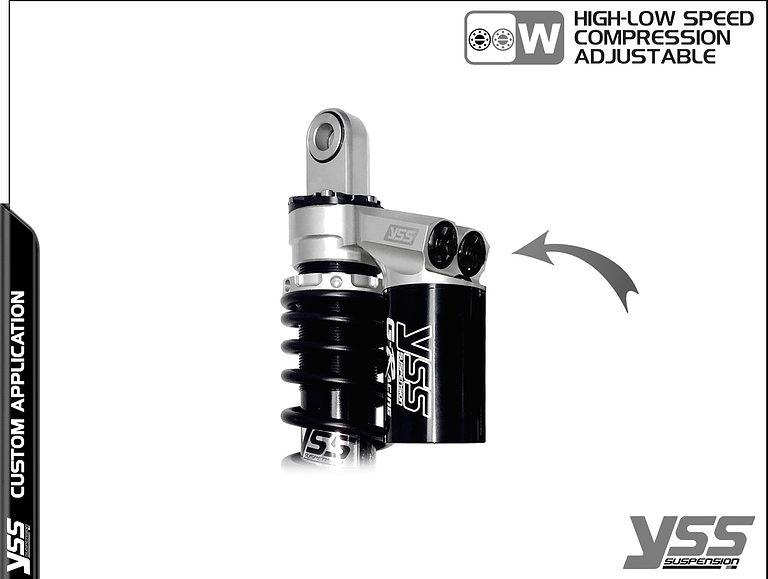 Honda RG-CB-362-TRWL YSS Topline Custom Shocks 13
