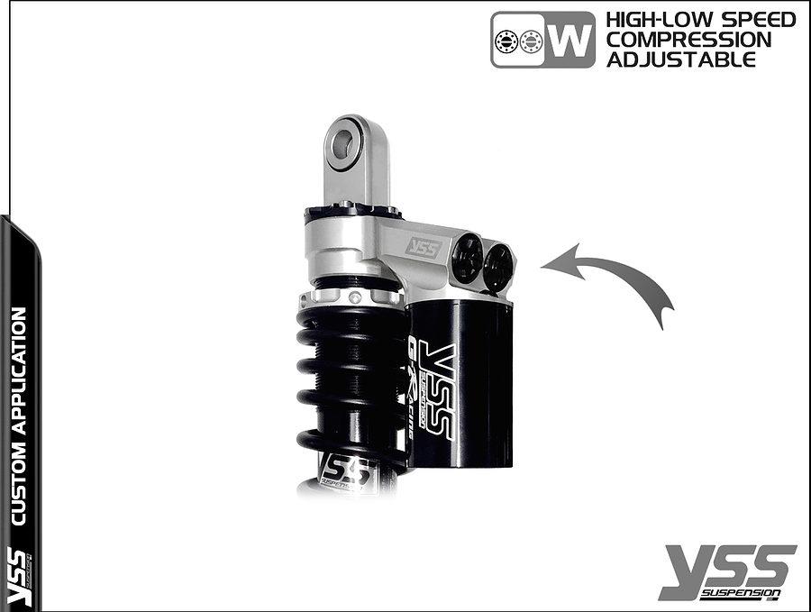 Honda RG-CB-362-TRWL YSS Topline Custom Shocks 6