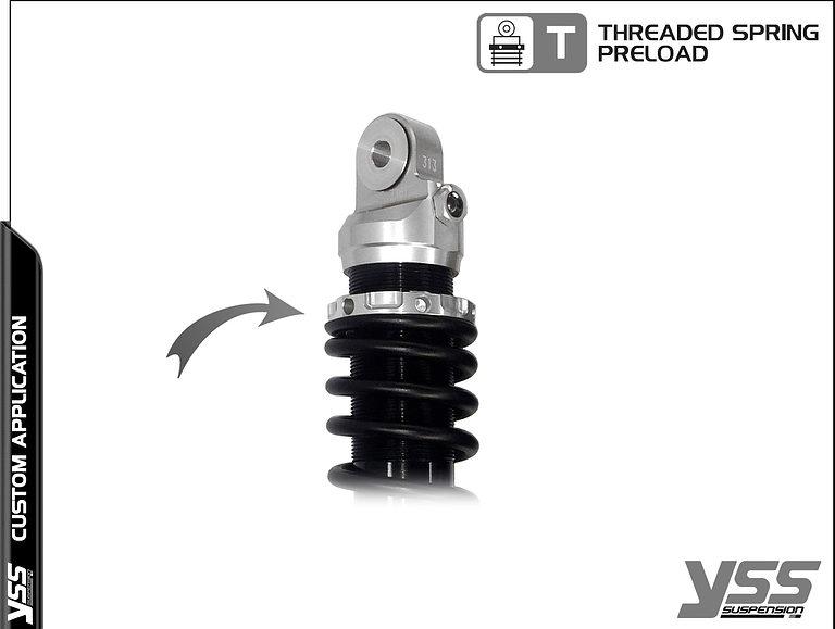 Honda RZ-CB-362-TRL YSS Topline Custom Shocks 9
