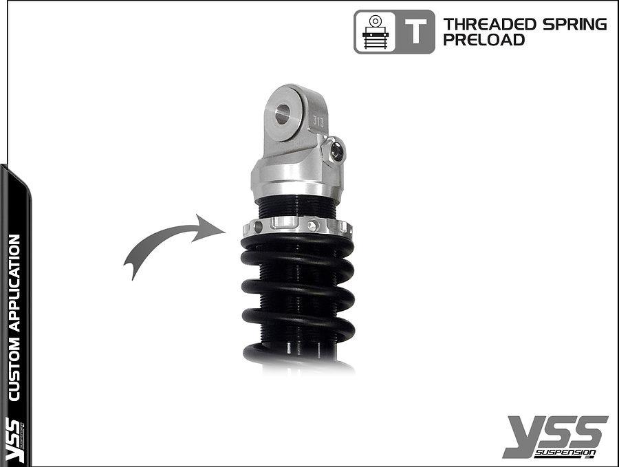 Honda RZ-CB-362-TRL YSS Topline Custom Shocks 4