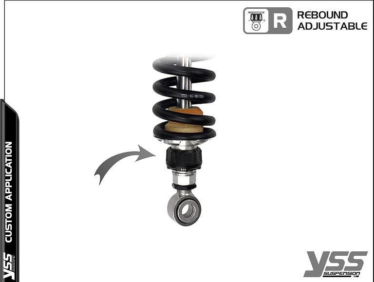 BMW R100 / R80 - Monolever - MZ366-410TRL-06 Custom YSS Shocks 9