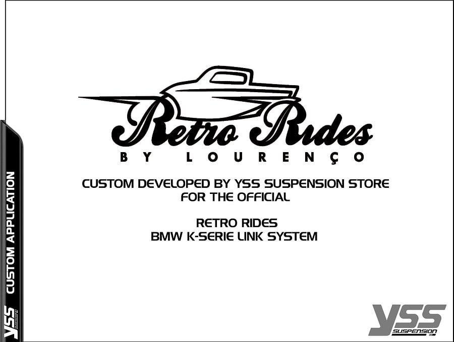 BMW K100/K75 YSS MZ RetroRides Shock 6