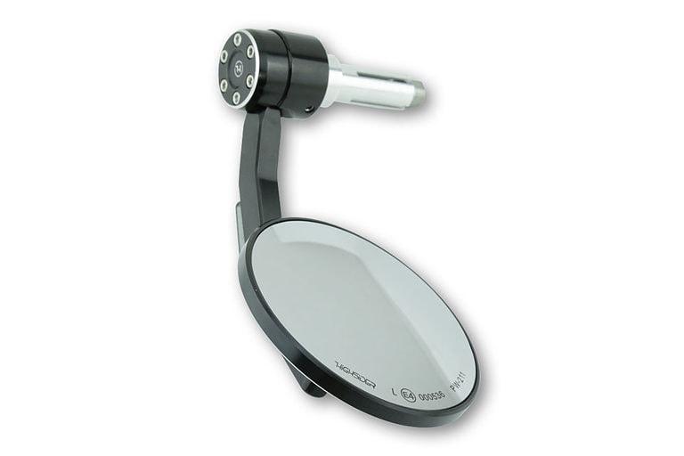 HIGHSIDER CONERO handlebar end mirror with LED turn signal 6